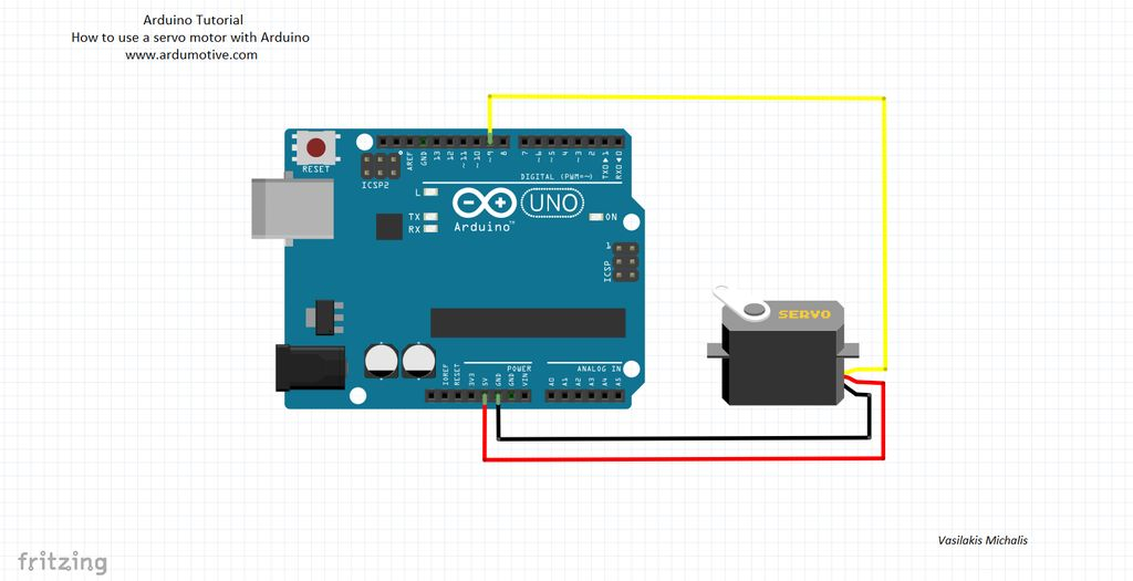 Servo Motor And Arduino Tutorial