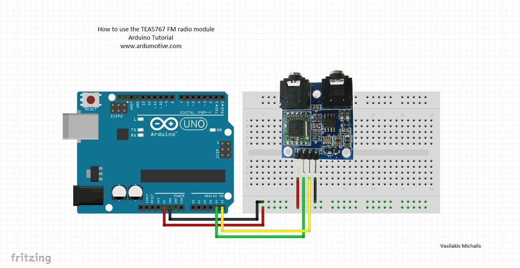 How To Use The Tea5767 Fm Radio With Arduino Ardumotive