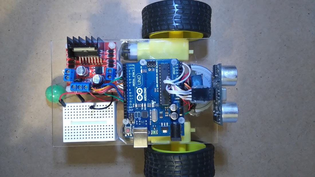 Obstacle avoidance Arduino robot build your own