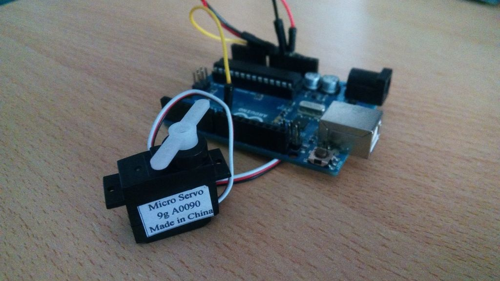 Controlling A Servo Motor From Processing Program