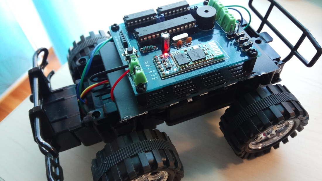 Arduino Bluetooth Car with custom PCB - Ardumotive Arduino Greek ...