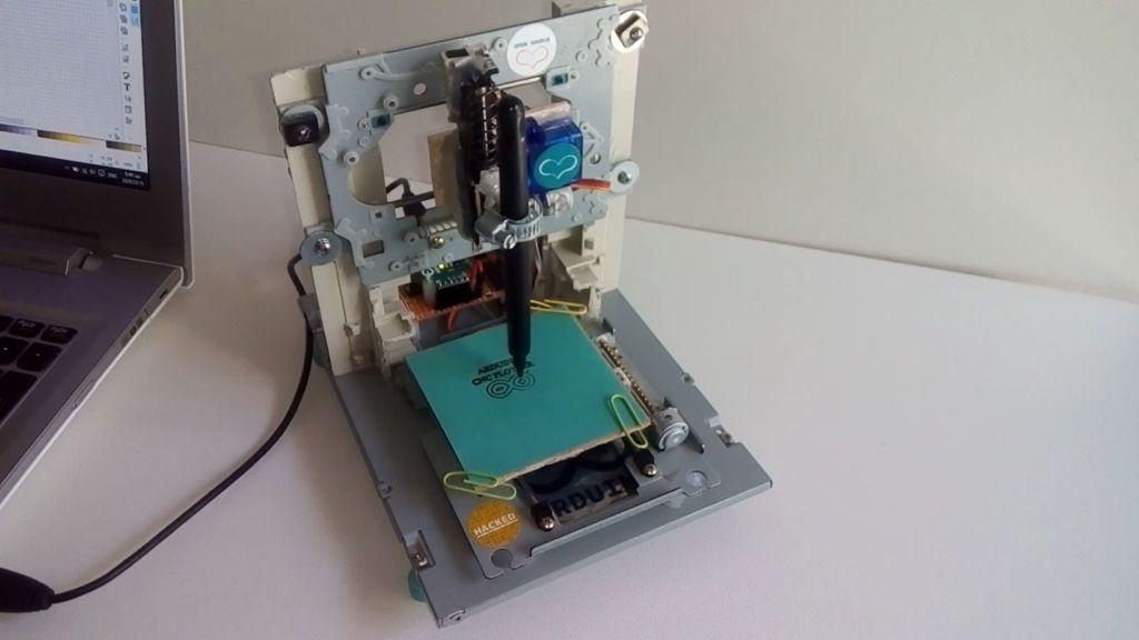 Mini CNC Plotter - Arduino Based - Ardumotive Arduino Greek